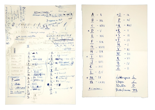 Ever wondered what was written in Scudder's notebook? Here's Hannay's solution to its cipher